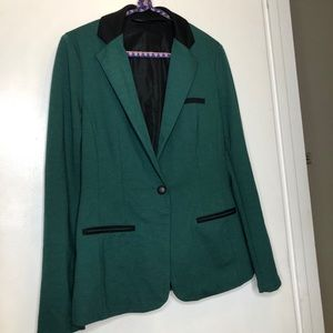 Mossino Green Work Blazer